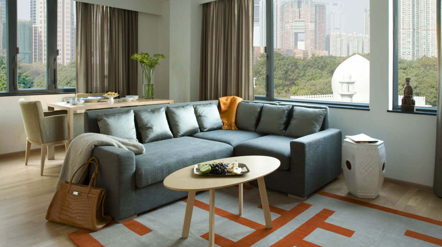 Shama Hong Kong Serviced Apartments, excellent use of ...